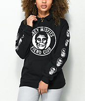 Obey x Misfits Creeper Fiend Club Black Hoodie