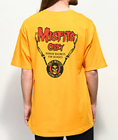 Obey x Misfits Horror Biz Hands Gold T-Shirt