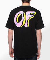 Odd Future OF Donut camiseta negra