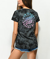 Odd Future x Santa Cruz Black Tie Dye T-Shirt