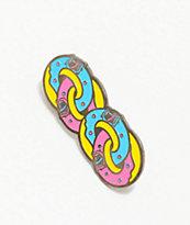 Odd Future x Santa Cruz Donut Chain Enamel Pin