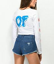 Odd Future x Santa Cruz Logo camiseta blanca