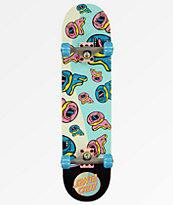 "Odd Future x Santa Cruz Screaming Donut 7.75"" Skateboard Complete"