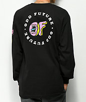 Odd Future x Santa Cruz Screaming Donut Black Long Sleeve T-Shirt