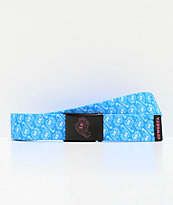 Odd Future x Santa Cruz Screaming Hand Turquoise Web Belt
