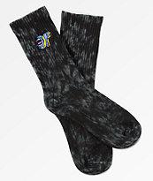 Odd Future x Santa Cruz calcetines con lavado negro