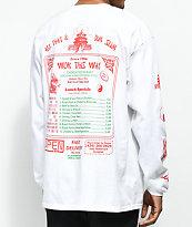 Open925 Wok This Way camiseta blanca de manga larga