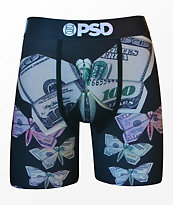 PSD Money Origami Migos Black Boxer Briefs