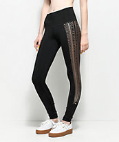 PUMA Everyday Train Black & Copper Leggings