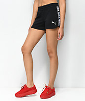 PUMA Spark Black Shorts