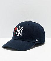 Petals & Peacocks x '47 NY Yankees Strapback Hat