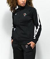 Petals by Petals & Peacocks x Champion Black & White Track Jacket