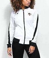 Petals by Petals & Peacocks x Champion chaqueta de chándal en blanco y negro