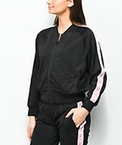 Pink Dolphin Wavesport Black Zip Up Track Jacket
