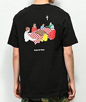 Pizza Grace camiseta negra