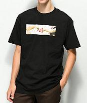 Pizza Michelangelo camiseta negra