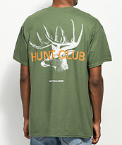 Post Malone Stoney Big Buck Hunt Club camiseta verde