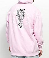 Primitive Club sudadera rosa con capucha