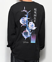 Primitive Creation camiseta negra de manga
