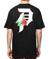 Primitive Dirty P Dos Flores camiseta negra