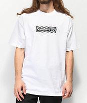 Primitive Finish Line Holographic camiseta blanca