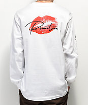 Primitive Heartbreakers Lover White Long Sleeve T-Shirt