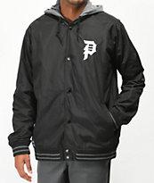 Primitive Varsity 2Fer chaqueta negra y gris