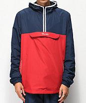 Primitive chaqueta anorak con cinta roja y azul