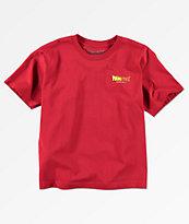 Primitive x Dragon Ball Z Boys Circle Cardinal Red T-Shirt