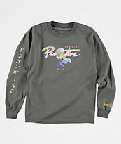 Primitive x Dragon Ball Z Boys Nuevo Piccolo Charcoal Long Sleeve T-Shirt