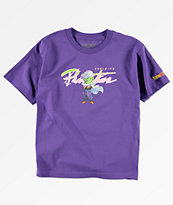 Primitive x Dragon Ball Z Boys Nuevo Piccolo Purple T-Shirt
