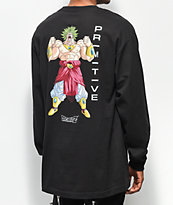 Primitive x Dragon Ball Z Broly camiseta negra de manga larga