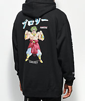 Primitive x Dragon Ball Z Broly sudadera negra con capucha