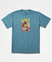 Primitive x Dragon Ball Z Goku Saiyan Blue T-Shirt