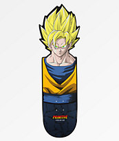 "Primitive x Dragon Ball Z Goku Team CNC Reflective 10.0"" Cruiser Deck"