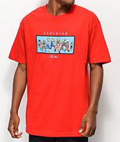 Primitive x Dragon Ball Z Heroes camiseta roja