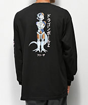 Primitive x Dragon Ball Z Mecha Frieza camiseta negra de manga larga