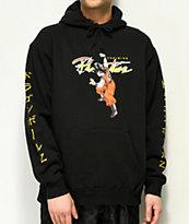 Primitive x Dragon Ball Z Nuevo Goku sudadera negra con capucha