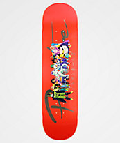 "Primitive x Dragon Ball Z Nuevo Villains 8.25"" tabla de skate"