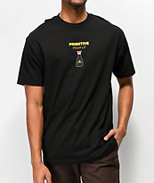 Primitive x Kikkoman Red Cap Black T-Shirt