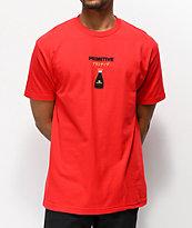Primitive x Kikkoman Red Cap Red T-Shirt