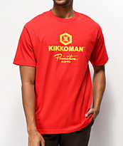 Primitive x Kikkoman Sauce Red T-Shirt