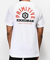Primitive x Kikkoman Soy White T-Shirt
