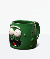 Primitive x Rick And Morty Pickle Rick Green Mug