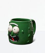 Primitive x Rick And Morty Pickle Rick taza verde