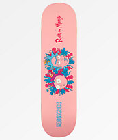 "Primitive x Rick and Morty PRod 8.0"" tabla de skate"