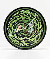 Primitive x Rick and Morty Portal Glow In The Dark Wall Clock