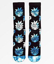 Primitive x Rick and Morty calcetines negros y azules