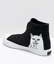 RIPNDIP Lord Nermal Hi-Top zapatos negros y blancos