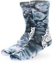 RIPNDIP Lord Nermal Tie Dye Crew Socks